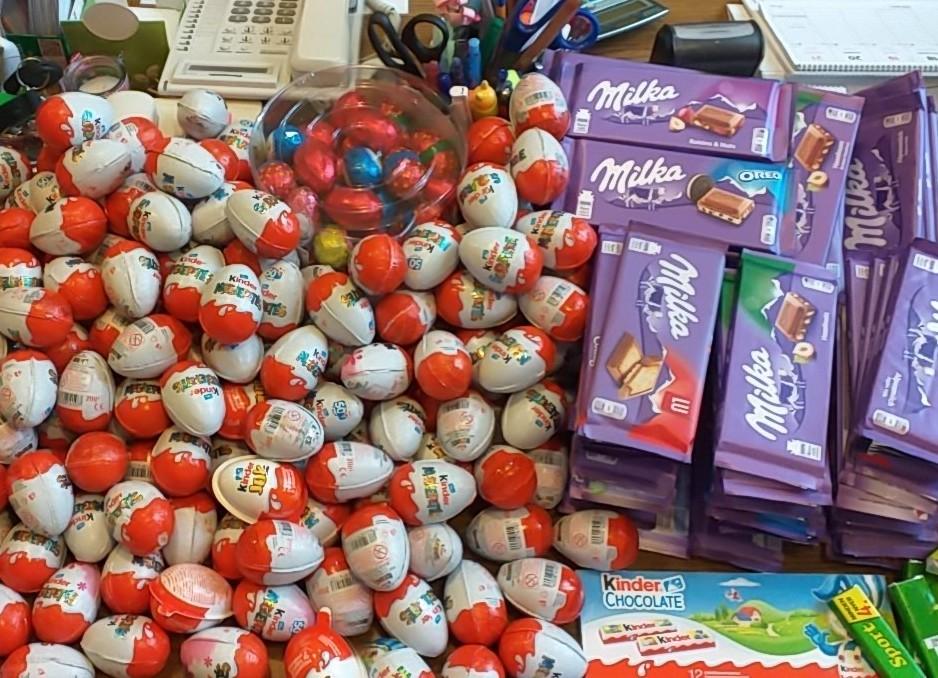 Csaknem négyszáz csokitojást és egyéb csokit sikerült összegyűjteni a rászorulóknak