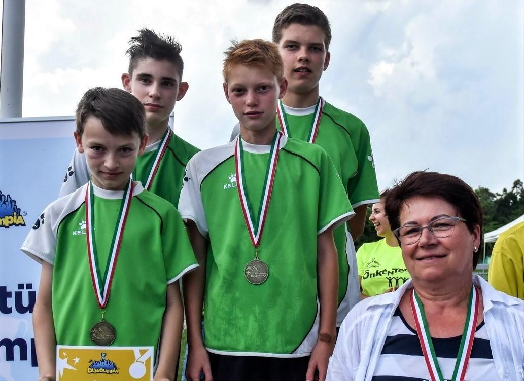 Sportsikerek a toronyi Gazdag Gyula Általános Iskolából