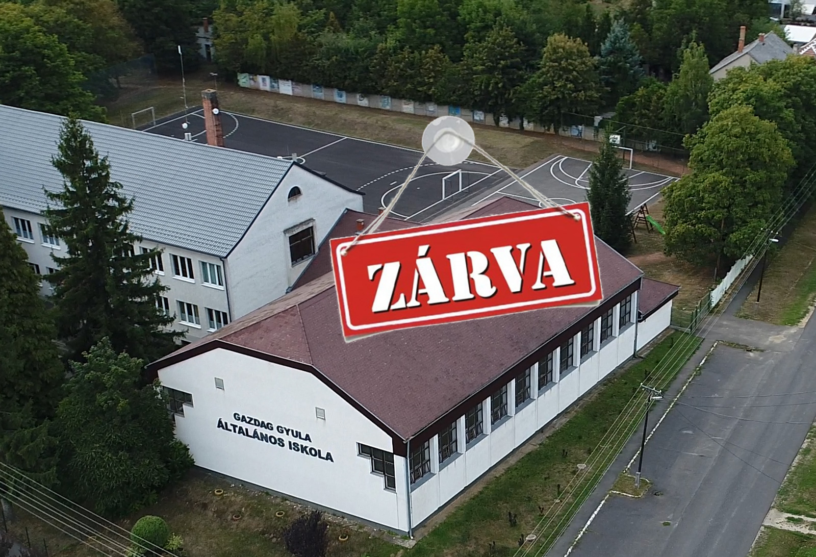 Tornacsarnok – ZÁRVA